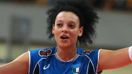 Valentina Diouf ai Mondiali del 2014