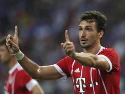 Mats Hummels, 28 anni, difensore del Bayern Monaco. Getty Images