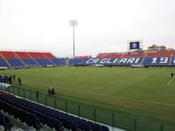 La Sardegna Arena, vista dalla tribuna principale, 4mila posti a sedere coperti. getty images