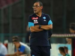 Maurizio Sarri, 58 anni, allenatore Napoli. ANSA