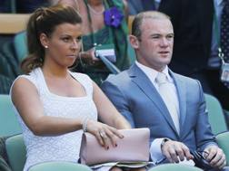 Coleen e Wayne Rooney. Action Images