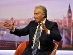 L'ex premier inglese Tony Blair. Reuters