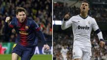 Lionel Messi, 30 anni, e Cristiano Ronaldo, 32.