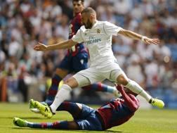 Karim Benzema, 29 anni, attaccante del Real Madrid dal 2009