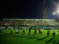 Lo stadio di Chapeco. LaPresse