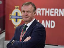 Il c.t. dell'Irlanda del Nord Michael O'Neill, 48 anni.