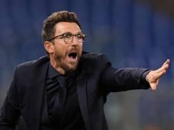 Eusebio Di Francesco, prima stagione alla Roma. Reuters
