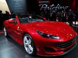 La nuova Ferrari Portofino. Reuters