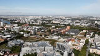 La città del Cinema, dove sorgerà il Villaggio Olimpico. Reuters