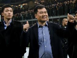 Steven Zhang con suo padre Jindong Zhang.
