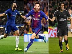 Zappacosta, Messi e Cavani.