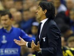 Simone Inzaghi, tecnico della Lazio. Ap