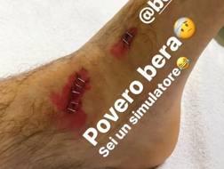 Il post sul profilo Instagram di Cannavaro