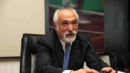 Il presidente federale Alfio Giomi, 69 anni