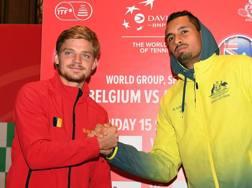 David Goffin, 26 anni e Nick Kyrgios, 22: i numeri uno di Belgio e Australia