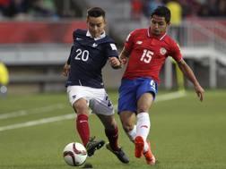 Georgen in azione al Mondiale Under 17. Afp