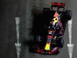Daniel Ricciardo in azione con la Red Bull. Getty