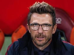 Eusebio Di Francesco, allenatore della Roma. Ansa