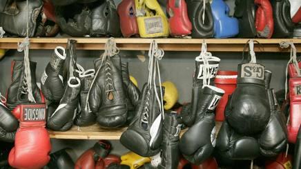 Uno scatto della Gleason's Gym di Brooklyn. Afp