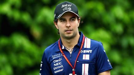 Sergio Perez. Getty
