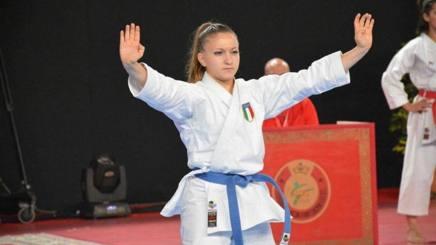 Carolina Amato, 17anni, unico oro azzurro al Campionato del Mediterraneo