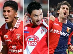 Han Kwang-Song, Mauricio Pinilla, Diego Milito e Oliver Bierhoff.