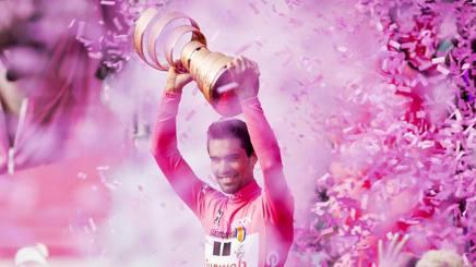 Tom Dumoulin, 26 anni, vincitore del Giro 2017. Epa