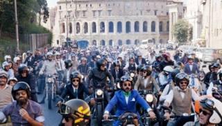 La Distinguished Gentleman's Ride di Roma