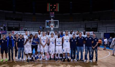 Brescia schierata prima del trofeo Lombardia di Desio. CIam/Cast