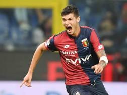 Pietro Pellegri, 16 anni, attaccante del Genoa. LaPresse