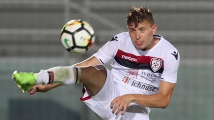Nicolò Barella, centrocampista del Cagliari. Getty