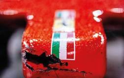 Il muso della Ferrari