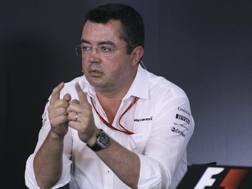 Eric Boullier, racing director della McLaren. Ap