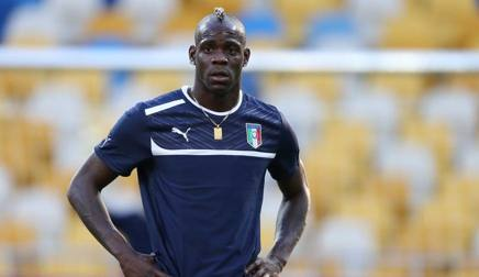 Mario Balotelli, 27 anni, attaccante del Nizza dal 2016. Ansa