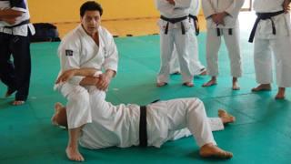 Vincenzo Failla durante una lezione di MGA