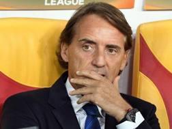 Roberto Mancini, 52 anni. Afp
