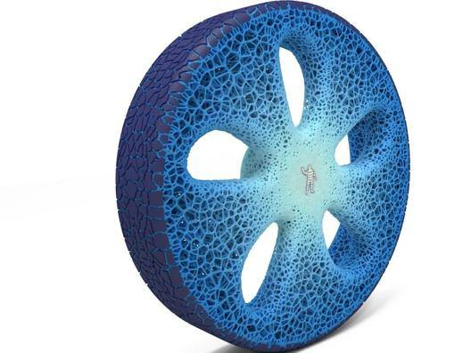 Il Concept Vision della Michelin non ha aria all'interno