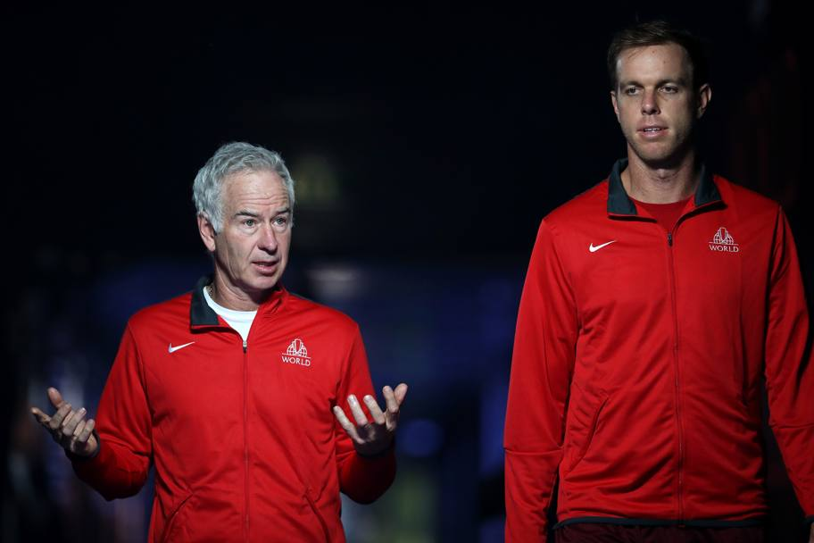 John Mcenroe e Sam Querrey  Getty Images