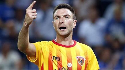 Fabio Lucioni, 29 anni, capitano del Benevento. Lapresse