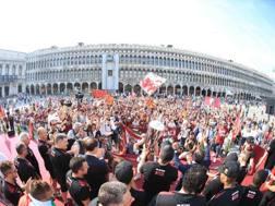 La festa scudetto di Venezia. CiamCast