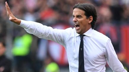 Simone Inzaghi, allenatore della Lazio. Reuters