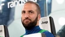 Higuain in panchina nel derby. Reuters