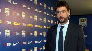 Andrea Agnelli, 41 anni, presidente bianconero dal 2010. Ansa