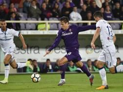 Federico Chiesa, 19 anni, ha segnato il suo secondo gol in campionato. Ansa