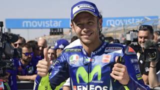Valentino Rossi, 38 anni  Afp