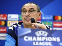 Maurizio Sarri, 58 anni. EPA