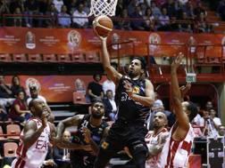 Jorge Gutierrez a canestro in Supercoppa. CiamCast