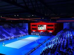 Il rendering dell'arena alla fiera di Rho per le finali Under 21