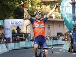 Giovanni Visconti, 34 anni, ha vinto anche 3 titoli italiani. Bettini