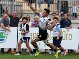 Renato Giammarioli vola in meta contro Ulster. Fama
